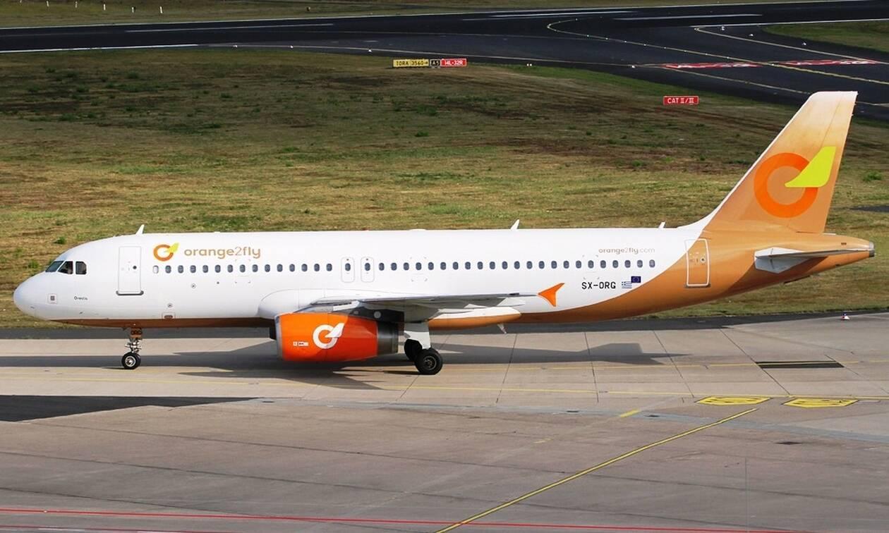 Αίτηση πτώχευσης από την ελληνική αεροπορική εταιρεία Orange2fly