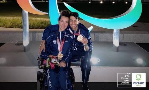 Χάλκινη η Αναστασία Πυργιώτη στους Παραολυμπιακούς του Τόκιο 2020