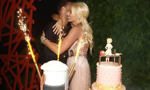 Το πάρτι γενεθλίων της Σπυροπούλου: Το φιλί με τον Σταθοκωστόπουλο και η τούρτα - υπερπαραγωγή