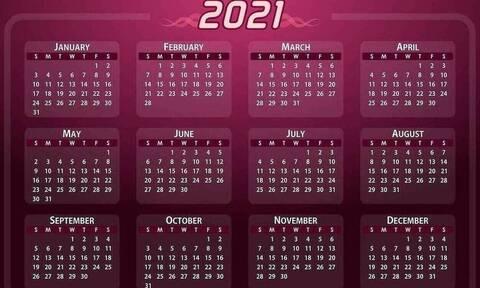 Αργίες 2021: 28η Οκτωβρίου η επόμενη - Δείτε όλες τις τοπικές αργίες
