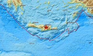 Σεισμός ΤΩΡΑ κοντά στο Ηράκλειο Κρήτης - Αισθητός σε αρκετές περιοχές (pics)