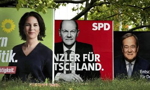 Γερμανία εκλογές δημοσκόπηση SPD CDU