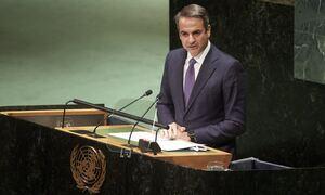 LIVE: Η ομιλία του Κυριάκου Μητσοτάκη στη Γενική Συνέλευση του ΟΗΕ - «Η Τουρκία αύξησε τις εντάσεις»