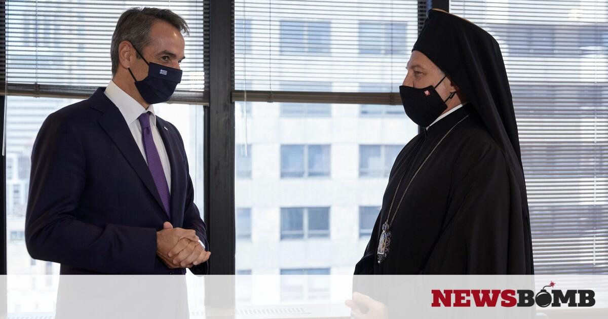 Ολοκληρώθηκε η συνάντηση Μητσοτάκη – Ελπιδοφόρου – «Λήξαν το θέμα» λένε από την κυβέρνηση – Newsbomb – Ειδησεις