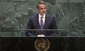 Μητσοτάκης στον ΟΗΕ: Ζούμε 25 χρόνια με το casus belli, η Τουρκία αυξάνει την ένταση στη Μεσόγειο