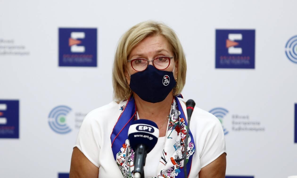 Επίσκεψη της Μίνας Γκάγκα στη Χίο - Στο επίκεντρο η ενίσχυση των υγειονομικών δομών