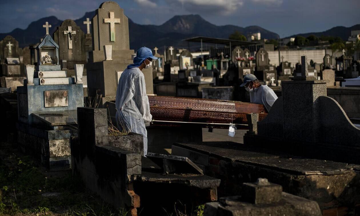 Κορονοϊός - Βραζιλία: 699 νέοι θάνατοι καιπάνω από 19.000 κρούσματα σε 24 ώρες