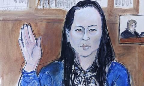 Αναχώρησε για την Κίνα η οικονομική διευθύντρια της Huawei Μενγκ Ουάνγκζου
