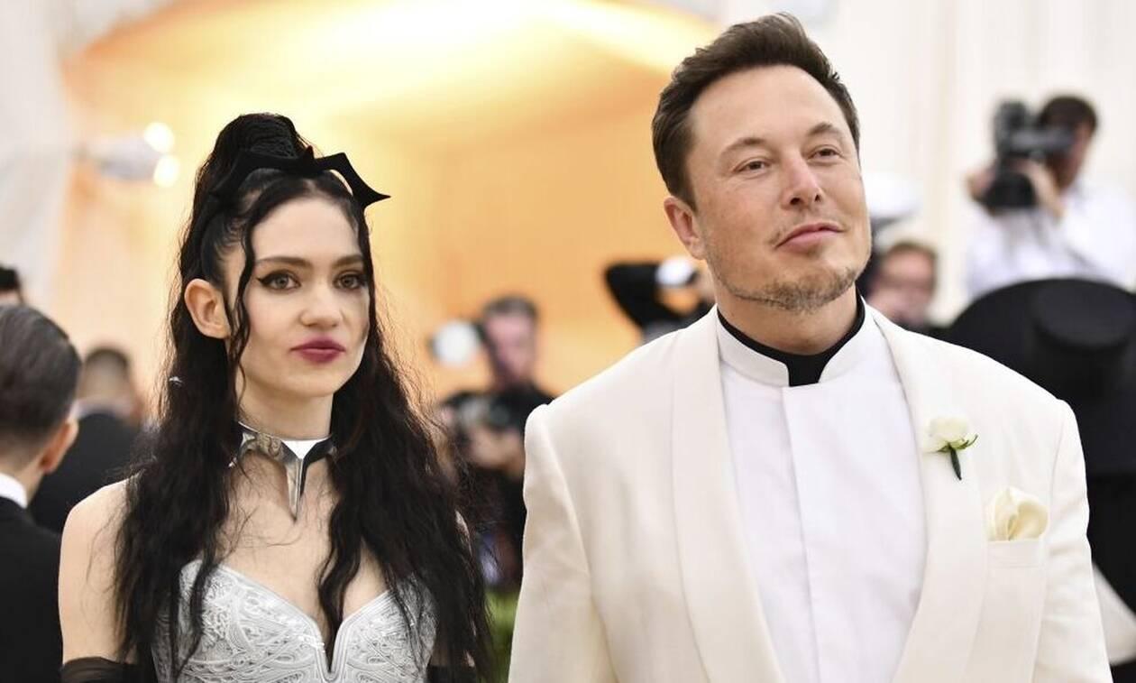 Έλον Μασκ - Grimes: Χώρισαν μετά από τρία χρόνια ο «Mr.Tesla» και η τραγουδίστρια