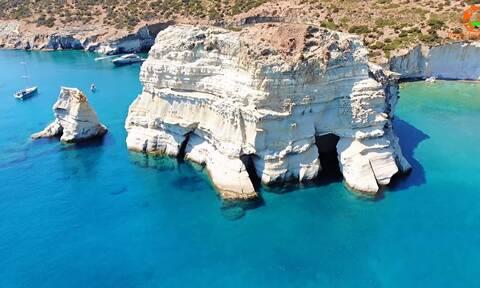 Τα Θαλασσινά «Μετέωρα» της Ελλάδας (video)