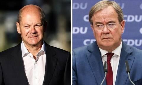 Γερμανικές εκλογές: Οι τελευταίες προεκλογικές εμφανίσεις των δυο φαβορί