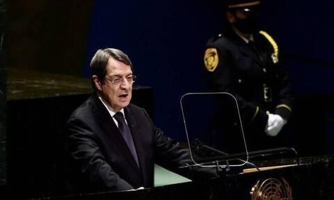 Αναστασιάδης: «Δεν θα υποκύψουμε σε κανέναν εκβιασμό για το Κυπριακό»