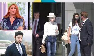 Δίκη για βιτριόλι: Χαμός με τη Σίσσυ Χρηστίδου και τον δικηγόρο του 40χρονου
