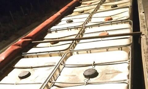 Κομοτηνή: Κατασχέθηκαν 30 τόνοι λαθραίας βενζίνης