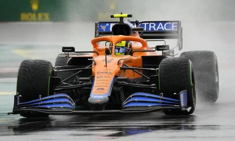 Formula 1: Η βροχή έφερε «χάος»! Πρώτη pole position για τον Λάντο Νόρις (vid+pics)