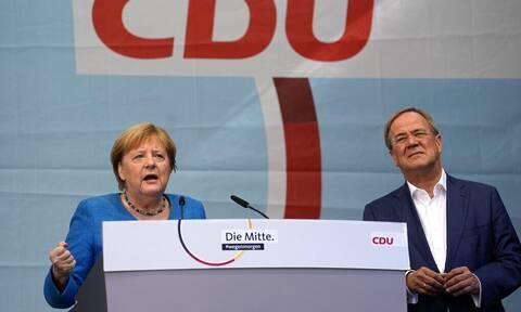 Εκλογές Γερμανία: Κάλεσμα Μέρκελ προς τους πολίτες να ψηφίσουν τον συντηρητικό  Άρμιν Λάσετ