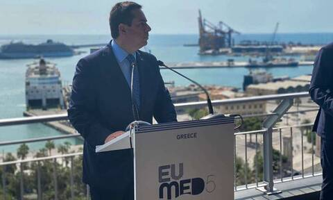 Med5 - Μηταράκης: Το ευρωπαϊκό Σύμφωνο Μετανάστευσης και Ασύλου δεν αποτελεί προϋπόθεση δράσης