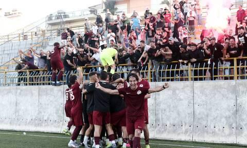 Κύπελλο Ελλάδας: Χαμός στο Εθνικός-Προοδευτική – Πανηγυρισμοί και ένταση (video+photos)