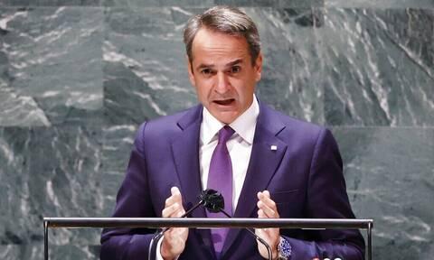 Μητσοτάκης: Η στρατηγική της Ελλάδας κατά της κλιματικής αλλαγής - Κύριο όπλο η καθαρή ενέργεια