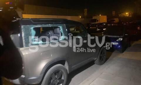 Την ώρα που ήταν στη σκηνή του J2US, της έσπαγαν το αυτοκίνητο για να την κλέψουν (video)