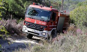 Φωτιά τώρα στο Κιλκίς, σε περιοχή του Δήμου Παιονίας