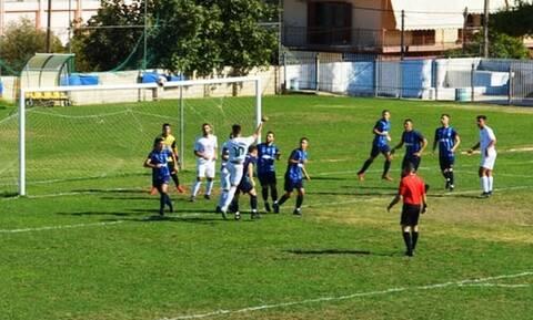 Απίθανα πράγματα σε ερασιτεχνικό ματς - Επιτέθηκαν με ρόπαλο σε ποδοσφαιριστή