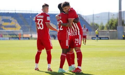 Αστέρας Τρίπολης-Ολυμπιακός 0-2: «Καθάρισε» από νωρίς και ετοιμάζεται για Φενέρμπαχτσε