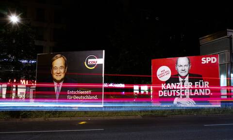 Εκλογές Γερμανία - Αποτελέσματα: Στο 1,7% η διαφορά SPD - CDU/CSU