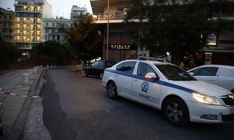Περιπολικό στο κέντρο της Αθήνας