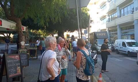 Cutremur în Creta: pagube în Arkalochori - Primele imagini