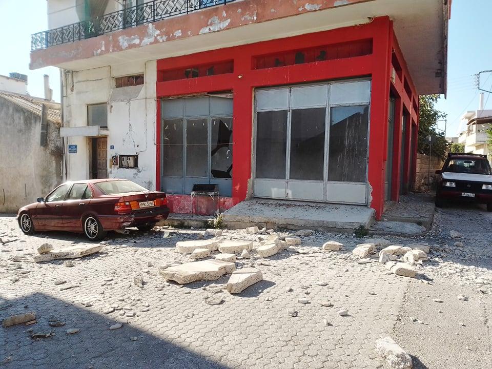 Μεγάλες ζημιές στην Κρήτη