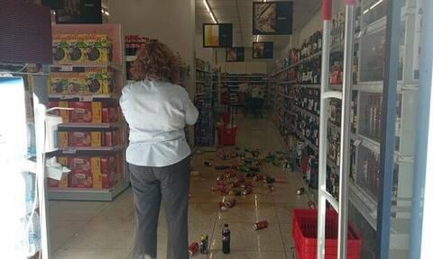 Σεισμός στην Κρήτη: Τα πρώτα βίντεο από το σημείο που «χτύπησε» ο Εγκέλαδος