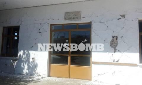 Σεισμός - Ηράκλειο Κρήτης - Ρωγμές σε κτήρια