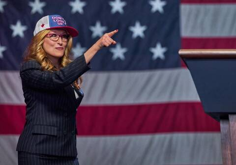 Netflix: Η Μέριλ Στριπ γίνεται θηλυκός Ντόναλντ Τραμπ στο νέο τρέιλερ του Don't Look Up