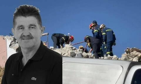 Σεισμός στην Κρήτη: Αυτός είναι ο άνδρας που έχασε τη ζωή του στην εκκλησία