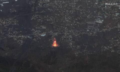 Ηφαίστειο Λα Πάλμα: Το Κούμπρε Βιέχα άρχισε να βρυχάται ξανά - Λάβα, καπνός και τοξικά αέρια