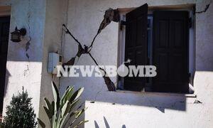 Αποστολή Newsbomb.gr στο Αρκαλοχώρι Κρήτης: Οι κάτοικοι μετρούν τις πληγές τους μετά τα 5,8 Ρίχτερ