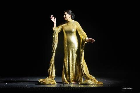 Θερμό χειροκρότημα για τη Μαρίνα Αμπράμοβιτς ως Μαρία Κάλλας