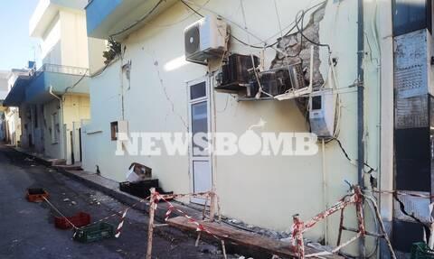 Σεισμός Κρήτη Αρκαλοχώρι Ηράκλειο καταστροφές