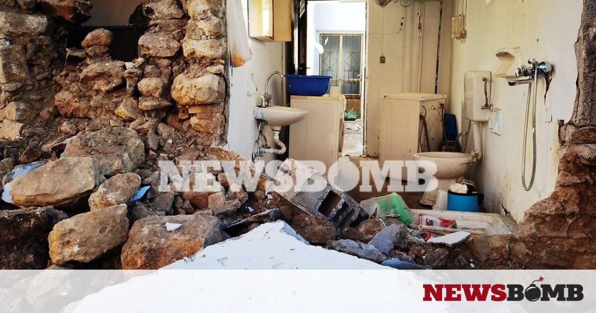 Αποστολή Newsbomb.gr στο Αρκαλοχώρι: Εγκαταλείπουν τα σπίτια τους οι κάτοικοι – Συνεχείς μετασεισμοί – Newsbomb – Ειδησεις
