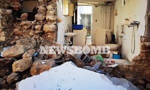 Αποστολή Newsbomb.gr στο Αρκαλοχώρι: Εγκαταλείπουν τα σπίτια τους οι κάτοικοι - Συνεχείς μετασεισμοί