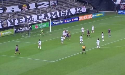Απίθανο γκολ με ψαλιδάκι σε αγώνα γυναικών (video)
