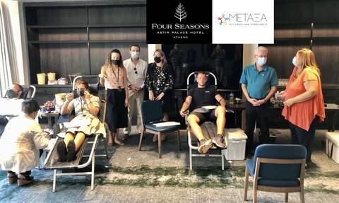 Ευσταθόπουλος: Το προσωπικό του Four Seasons Astir Palace χάρισε ζωή σε ασθενείς του «Μεταξά»
