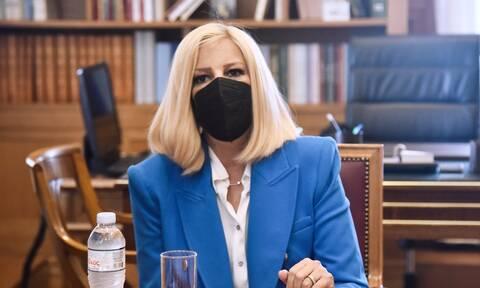 Μεταβαίνει στη σεισμόπληκτη Κρήτη η πρόεδρος του ΚΙΝΑΛ