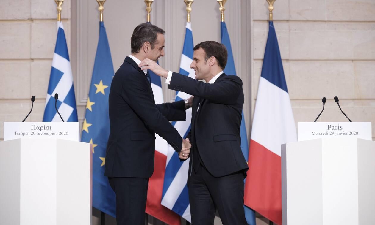 Ελλάς - Γαλλία - Αμυντική συμμαχία: Φρεγάτες, κορβέτες και στρατιωτική συνδρομή όποτε χρειαστεί
