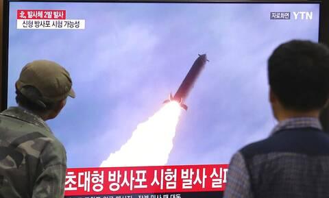 Νέος συναγερμός: Η Βόρεια Κορέα εκτόξευσε πύραυλο «άγνωστου τύπου» προς τη θάλασσα της Κορέας