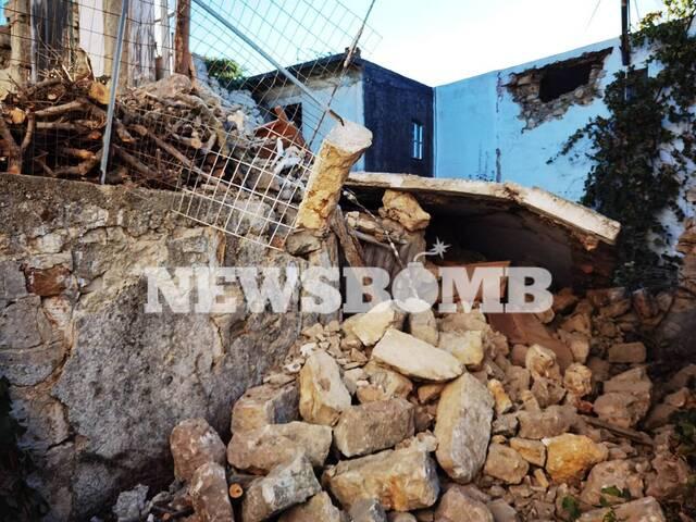 Εικόνες καταστροφής σε Αρχοντικό και Αρκαλοχώρι