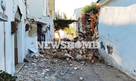Σεισμός Κρήτη Πολιτική Προστασία