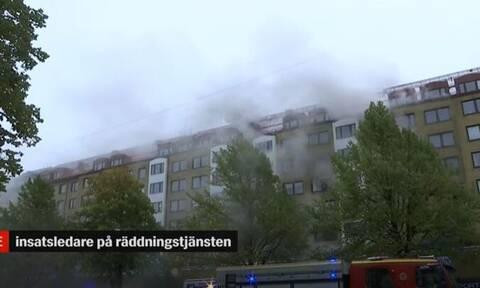 Σουηδία: Τουλάχιστον 25 τραυματίες από έκρηξη σε κτίριο στο Γκέτεμποργκ