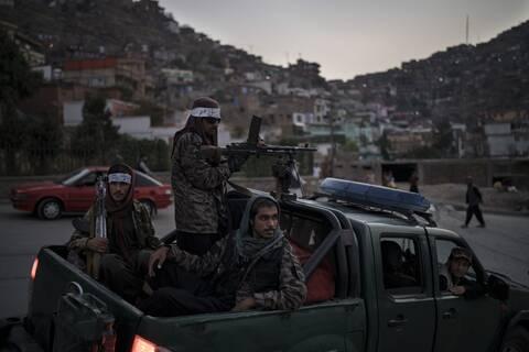 Tαλιμπάν στην Καμπούλ